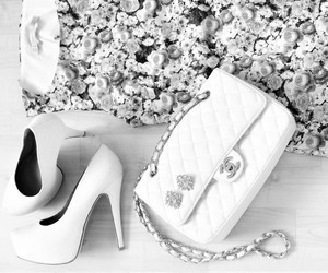 chanel, bag, and shoes image