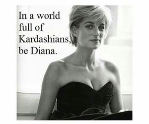 diana, kardashians, and princess image