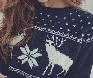 december, winter, and sweater image