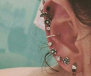 fashion, love, and piercing image