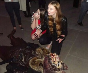 sophie turner, maisie williams, and pretty image