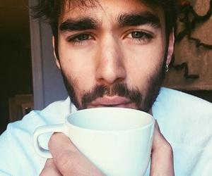 beard, beau, and beautiful image