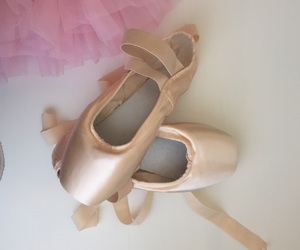 ballerina, ballet shoes, and dancer image