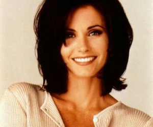beauty, hairstyle, and monica image