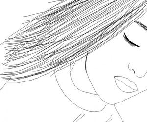 diy, drawing, and girl image