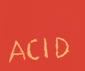 acid, red wall, and aesthetic image