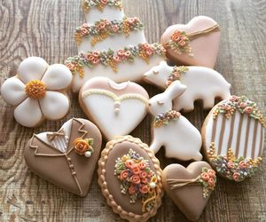 Cookies, pastel, and sweet image
