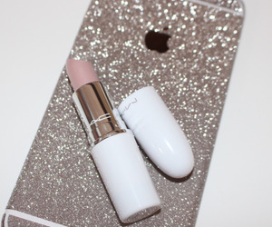 iphone, mac, and lipstick image