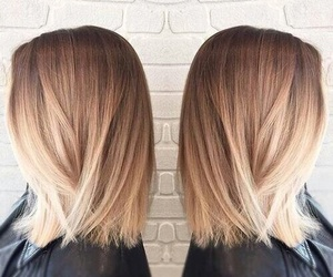 blonde, hairstyle, and style image