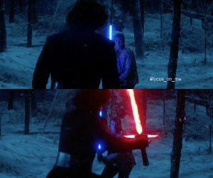 fight, finn, and star wars image