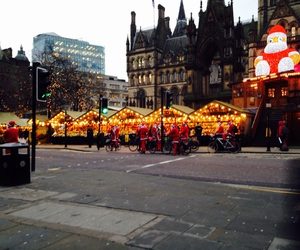 christmas, manchester, and markets image