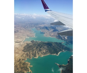 airplane, beautiful, and earth image