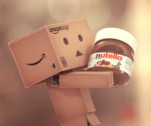 nutella, danbo, and chocolate image
