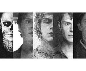 evan peters and american horror story image