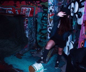 adidas, cool, and ghetto image