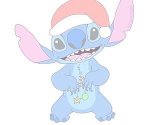 stitch, christmas, and lilo image