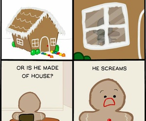 funny, gingerbread, and lol image