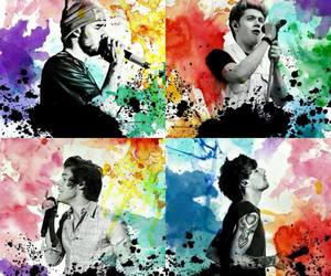 one direction, louis, and 1d image