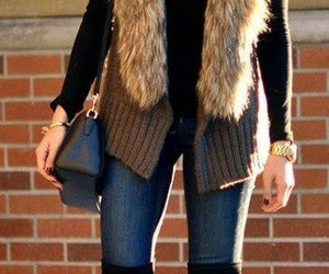 negro, outfit, and invierno image