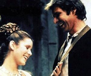 star wars, love, and leia image