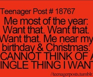 teenager post, christmas, and birthday image