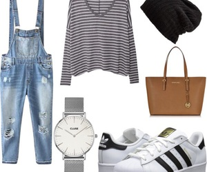 adidas, bag, and baskets image