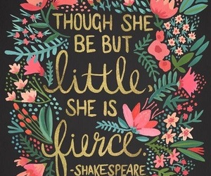 quotes, shakespeare, and flowers image