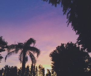sky, sunset, and lovely image