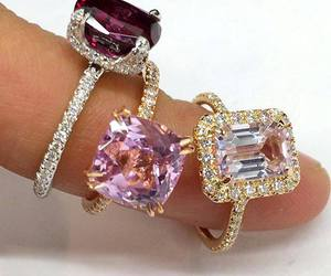 diamond, diamond ring, and jewely image