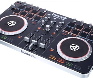 controller, dj, and music image