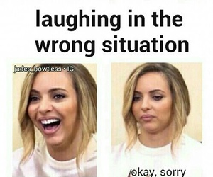 funny, little mix, and lol image