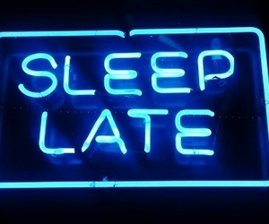 sleep, blue, and Late image