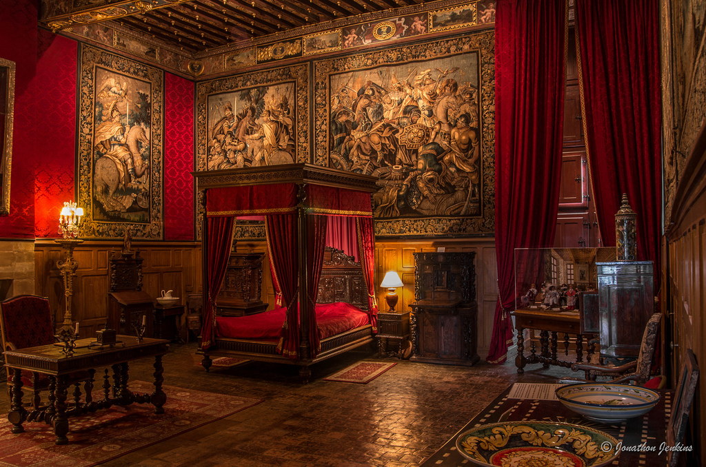 chateau de brissac, france, and bedroom medieval image
