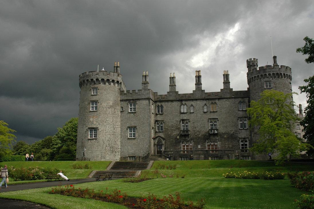 ireland, medieval, and irish castle image