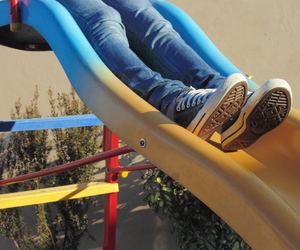 converse, infancia, and jeans image