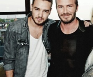 liam payne, one direction, and David Beckham image