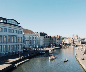 belgium and Gent image