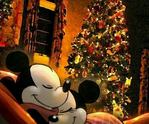 christmas, disney, and minnie image