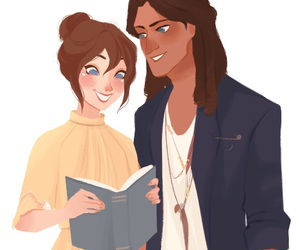 couple, disney, and tarzan image