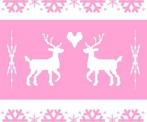 christmas, nordic, and reindeer image