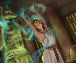 ancient egypt, digital art, and drawing image