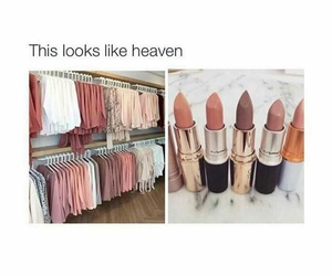 makeup, fashion, and heaven image