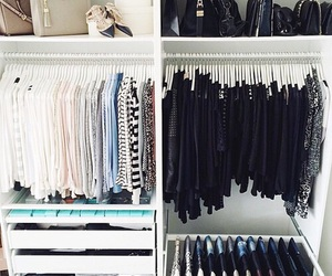 clothes, closet, and room image