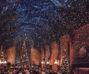 christmas, good night, and harry potter image