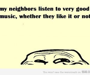 lol, troll, and music image