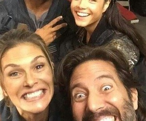 lincoln, ricky whittle, and octavia image
