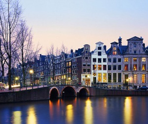 amsterdam, city, and light image