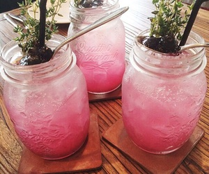 'pink', 'drinks', and 'green' image