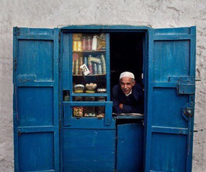 morocco, عربي, and blue image