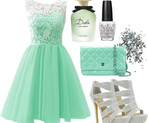 dress, outfit, and Polyvore image